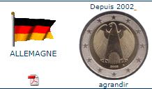 piece de 2€ allemande