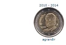 piece 2€ espagne 201 2014