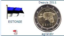 piece 2€ estonie