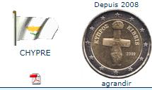 piece chypriote 2 euros
