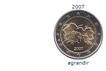 peice 2 euros finlande 2017