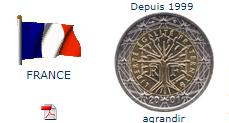 2 euros france piece