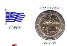 Pièce nationale Grèce 2 €