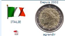 Pièce nationale Italie 2 €