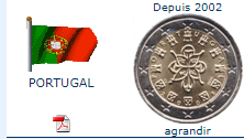 Pièce nationale Portugal 2 €