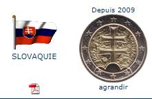 Pièce nationale Slovaquie 2 €