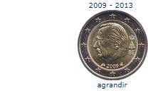 2euros belgique 2009-2013