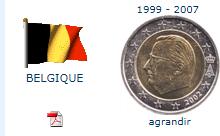 Pièce nationale belge 2 €