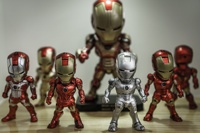 figurines de collection marvel