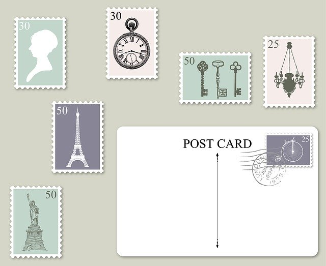 photos de timbres