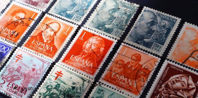 des timbres espagnols